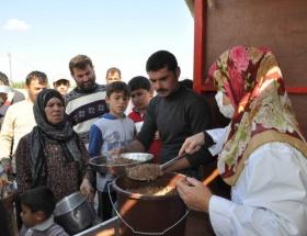 Suriyeliler için yardım kampanyası
