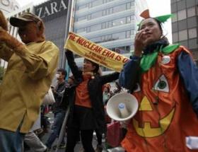 Cadılar nükleeri protesto etti