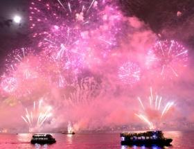İstanbulda muhteşem kutlama