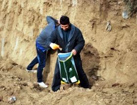 Anaokulu inşaatında kemikler çıktı