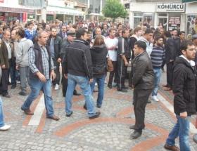 Bursada yolsuzluk protestosu