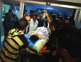 Şemdinlide patlama: 1 ölü, 1 yaralı