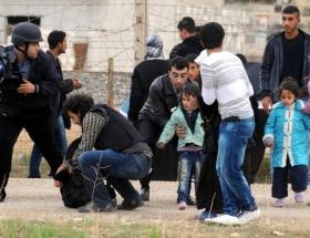 Bir günde 8 bin Suriyeli geldi