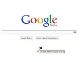 Google Atatürkü andı