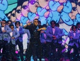 MTV Ödüllerinde Gangnam şov