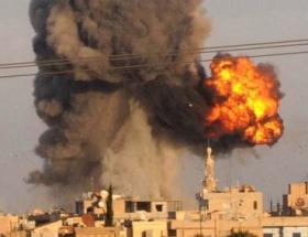 Humusta şiddetli patlamalar