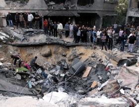 İsrail füzesi 11 Filistinliyi öldürdü