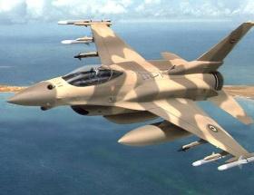 İsrail F-16sı düşürüldü!