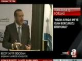Başbakan tercümanı uyardı, salon yıkıldı