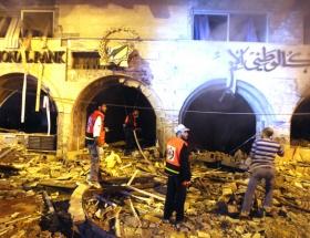 Gazzede roket patladı: 1 ölü