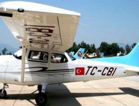 THKya getirilen uçak zorunlu iniş yaptı