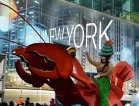 New Yorkta Şükran Günü yürüyüşü