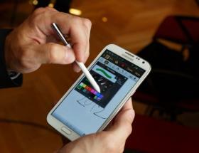 Galaxy Note III ortaya çıktı!