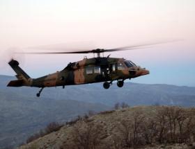 Silivri Cezaevine askeri helikopter indi