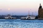 İstanbulda dolunay güzelliği