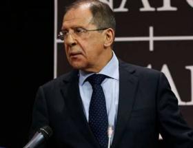 Davutoğlu, Lavrov ile görüşüyor