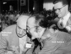 Fethullah Gülen ile Tuncay Güney aynı karede