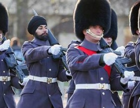Buckingham Sarayında bir ilk