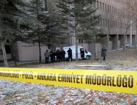 Ankara Adliyesinde intihar