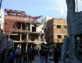 Şamda şiddetli patlama