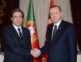 Portekiz Başbakanı Coelho Ankarada