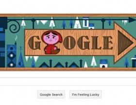 Googledan Kırmızı Başlıklı Kız doodleı
