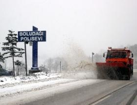 TEMde ulaşıma kar engeli!
