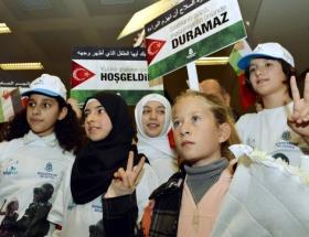 İsrail askerlerine kafa tutan kız İstanbulda