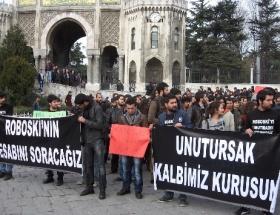 Beyazıtda Uludere protestosu
