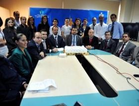 Akdeniz Üniversitesi Hastanesinde kutlama