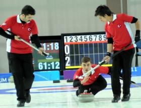 Curlingde ilk galibiyet