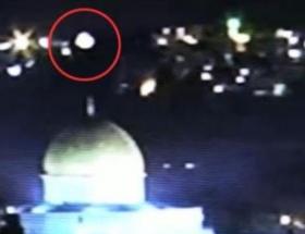 Kudüste UFO heyecanı
