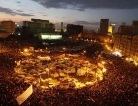 Milyonlar yine Tahrirde