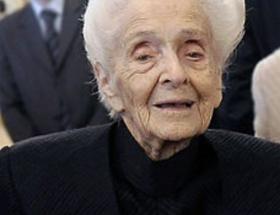 Nobel Ödüllü Rita Levi-Montalcini öldü
