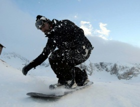 Davrazda kayak sezonu başladı