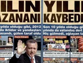 Sözcü Erdoğanı yılın kazananı ilan etti