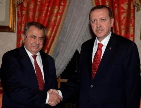 Erdoğan, İrsen Küçükü kabul etti