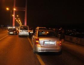 Boğaz köprüsünde yeni yıl