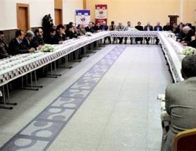 Suriyeli 50 komutan Antepte buluştu