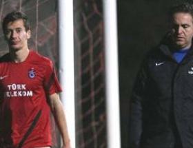 Trabzonsporda Sapara ve Cech antrenmanı tamamlayamadı