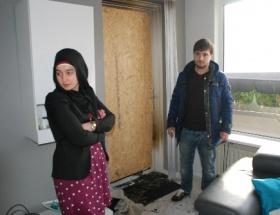 Hollandada Türk ailenin evi kundaklandı