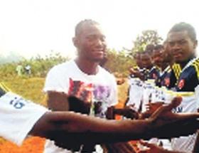 Kamerunda Fener formalı turnuva