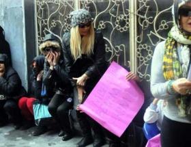 Karaköyde genelevde çalışan kadınlar isyan etti