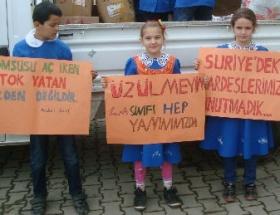 Suriyeye yardım kampanyası