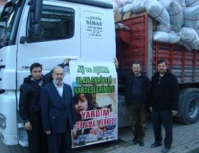 Simavdan Suriyeye yardım eli