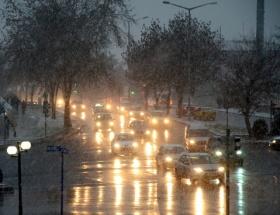 Ankarada yoğun trafik