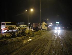 Ünyede trafik kazası: 1 kişi ağır yaralı