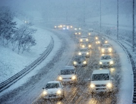 Bursa-Ankara yolu trafiğe kapandı