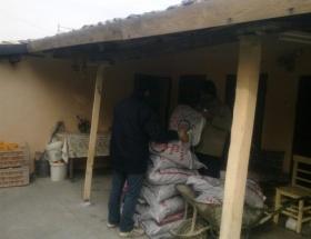700 aileye 350 ton kömür dağıtıldı