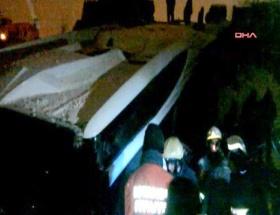 Görgü tanıkları, otobüs kazasını anlattı